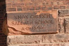DSD_2910 Knox Presbyterian Church cornerstone