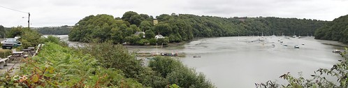 The view from the Heron Inn, Malpas by Stocker Images