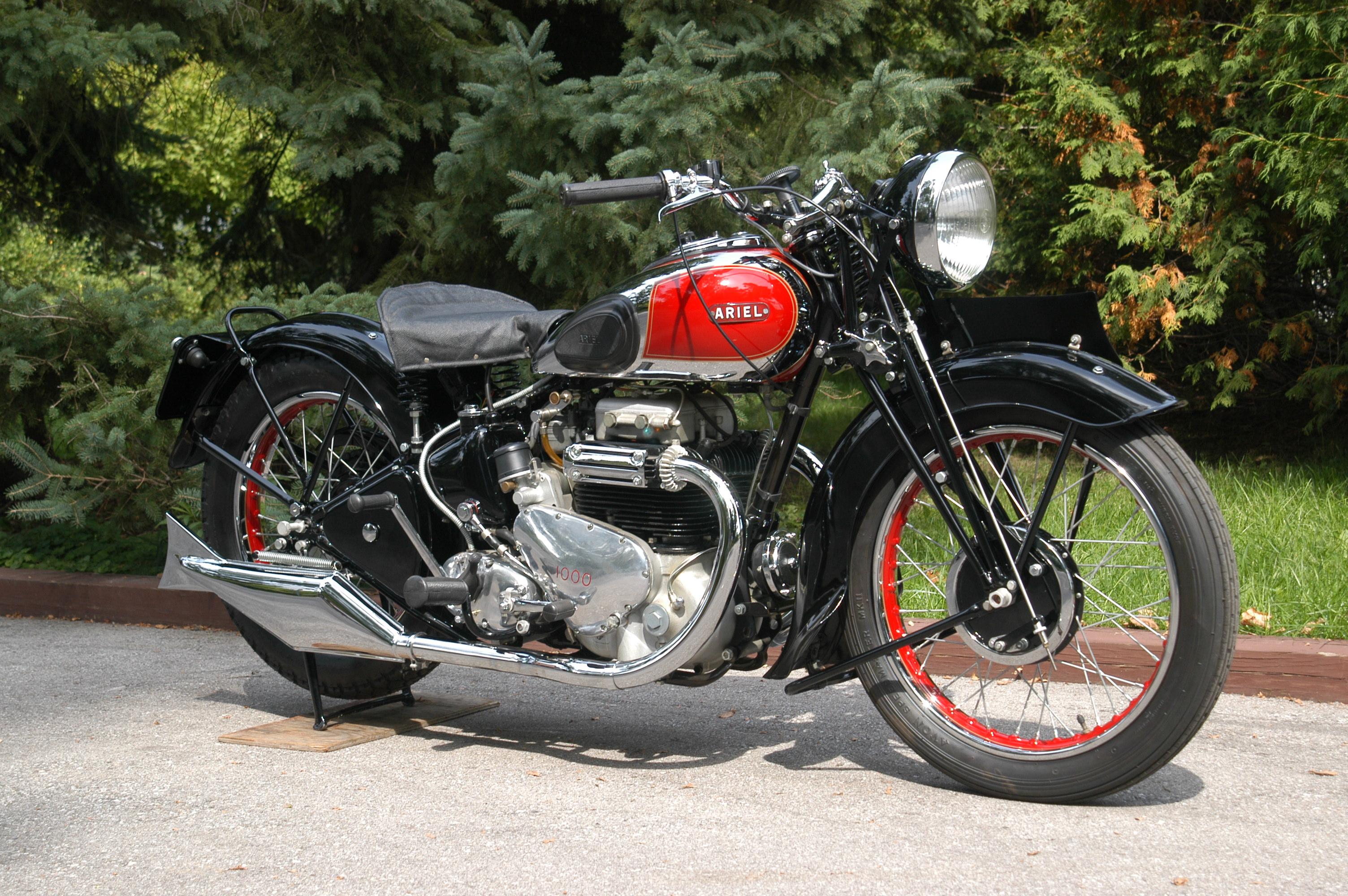 Ariel 1938 NG 350cc 1 cyl ohv - Yesterdays