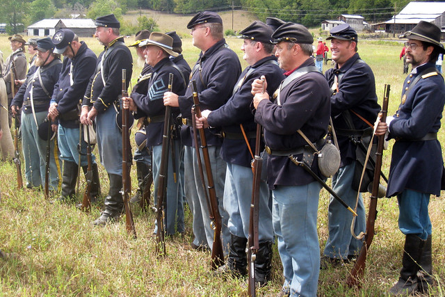 Yankee Civil War Civil War Reenactors: ...