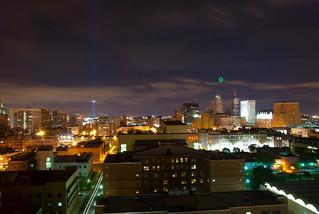Overlook of Down Town Newark