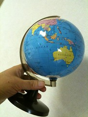 decor, earth, globe,