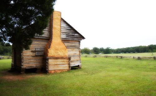 chimney cabin tennessee rustic civilwar battlefield 1862 shiloh battlefields peachorchard