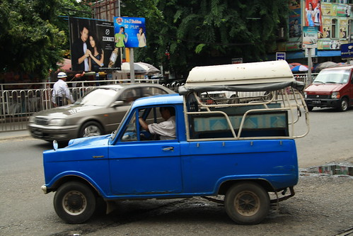 Blue Taxi - Myanmar Style