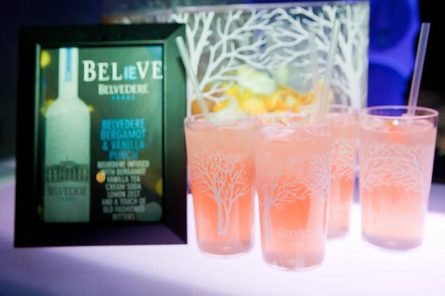 Belvedere's Bergamot & Vanilla punch