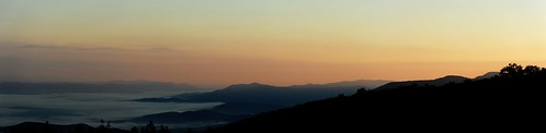 panorama sunrise shenandoahnationalpark hugin