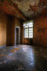 The room with the orange walls - L Mental Hospital