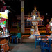 Thailand at Night: Food & Shrine