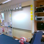 ClassroomA Teacher and Whiteboard Areas