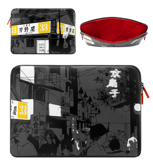 Tokyo laptop sleeve by Evan Hecox, curated by Arkitip, produced by Incase