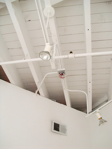 ceiling with track lighting in office flickr photo
