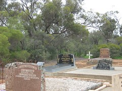 At the Barabba Cemetery