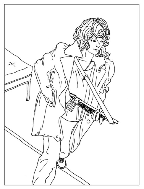 robber coloring pages - photo#11