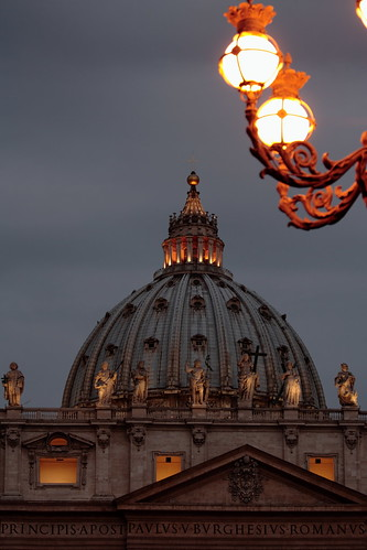 light italy rome sunrise s pietro