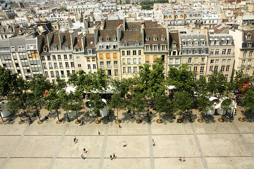View from Centre Georges Pompidou