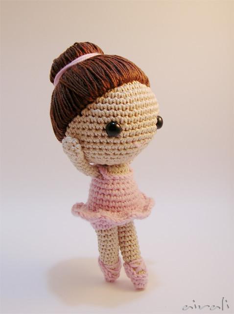 Amigurumi Balerin Fare Yapilisi : ballerina amigurumi pattern di Mia Zamora Johnson By ...