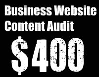 website content audit Vancouver freelance copywriter