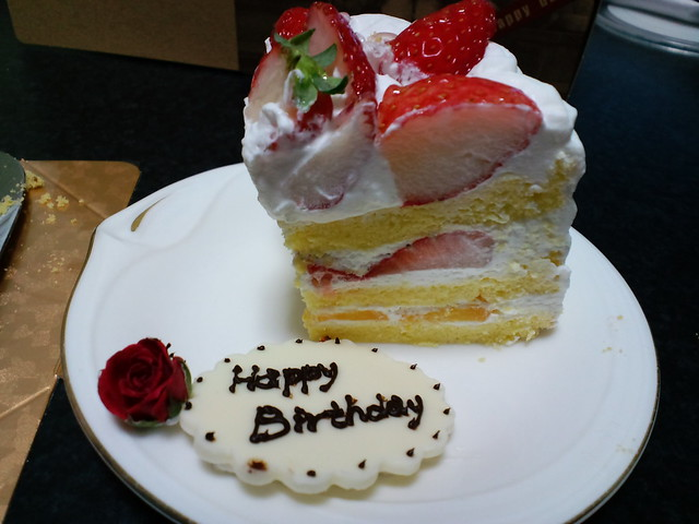 Photo:パティスリーchou chou 誕生日ケーキ(My Wife's Birthday Cake) By alphalead