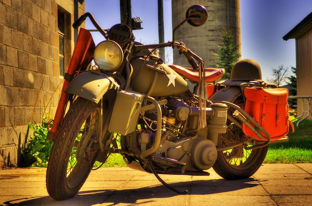 Harley Davidson Army: 1942 Military Harley Davidson