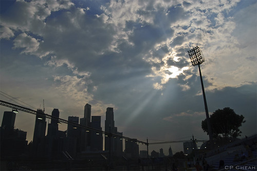 Rays over the City