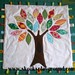 Tree Applique Taggie Blanket