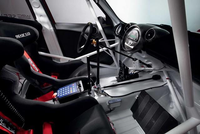 MINI WRC interior