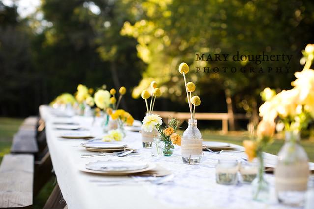 5087094350 8e342cd848 for Garden wedding table settings