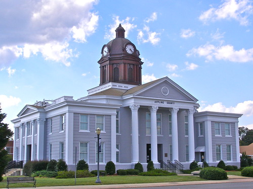 building clock architecture clouds georgia geotagged columns formal bluesky cupola government classical courthouse pediment breezy baxley melystu