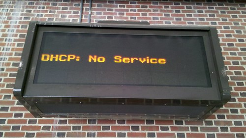 DHCP: No Service