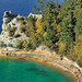 """Miners Castle"" Pictured Rocks National Lakeshore, Upper Michigan"