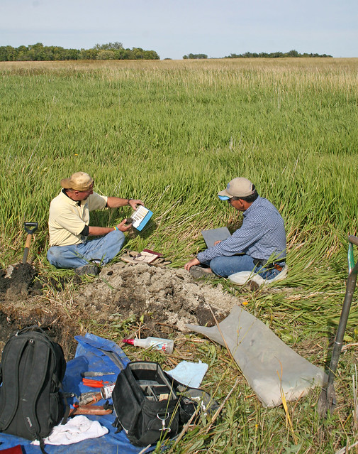 Soil scientists at work 8 flickr photo sharing for Soil scientist