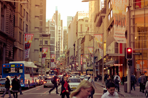 Sydney George Street Looking South