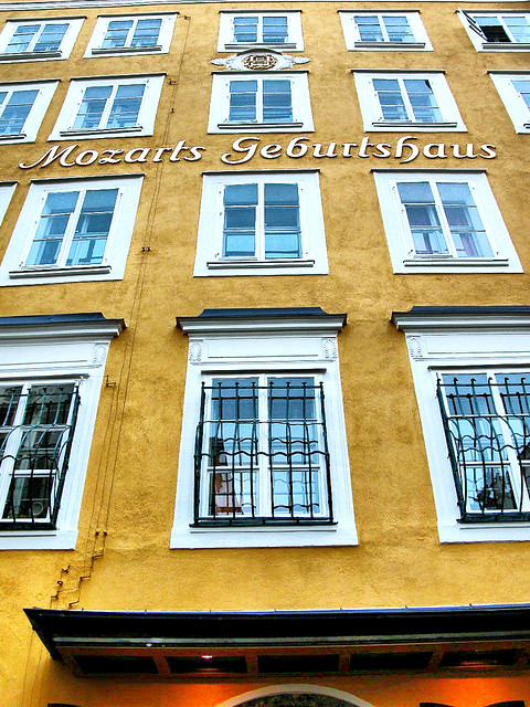 BirthplacE OF WolfganG AmadeuS MozarT IN SalzburG AustriA
