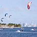 Kiteboarding on Biscayne Bay/Key Biscayne