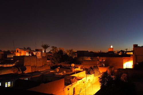 Marrakesh by night