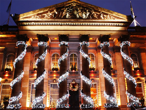 The Dome George Stree Edinburgh Christmas