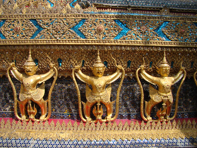 Royal Grand Palace ~ Bangkok, Thailand by flick user vasenka