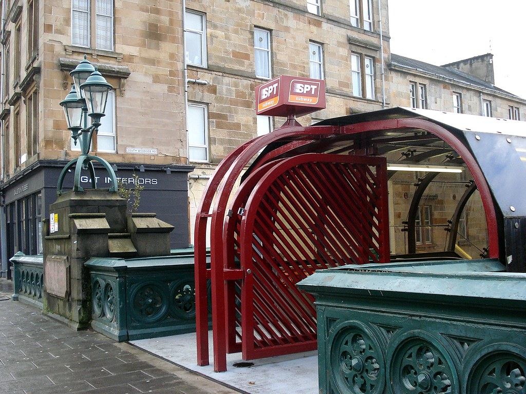 Kelvinbridge subway station, Glasgow