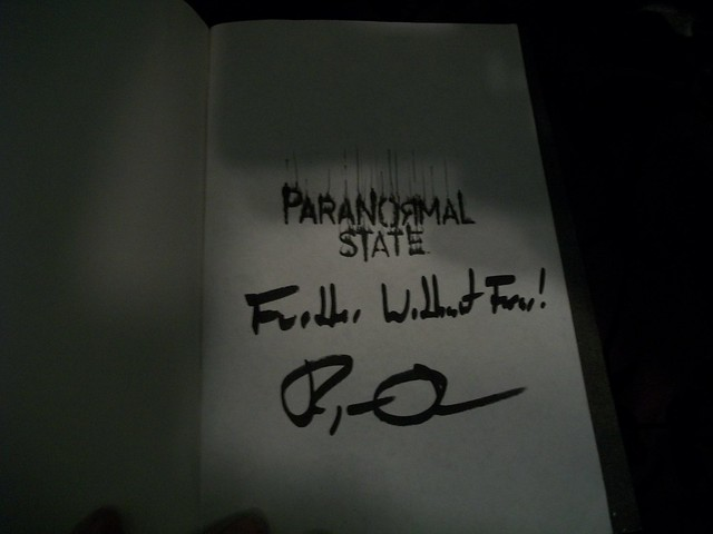 Ryan Buell book signed