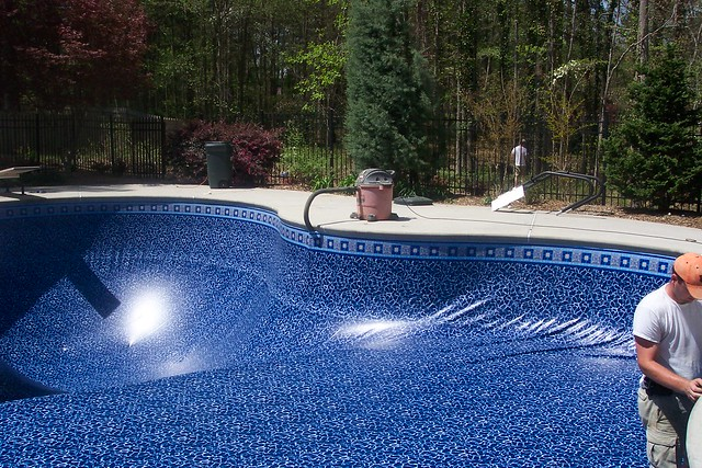 Photo for Installing pool liner in cold weather