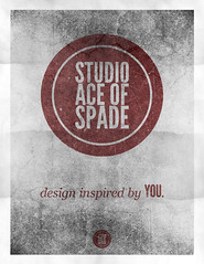Studio Ace of Spade - Monthly poster series - November 2010