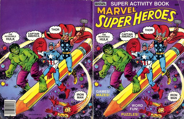 Marvel Super Heroes Super Activity Book00001