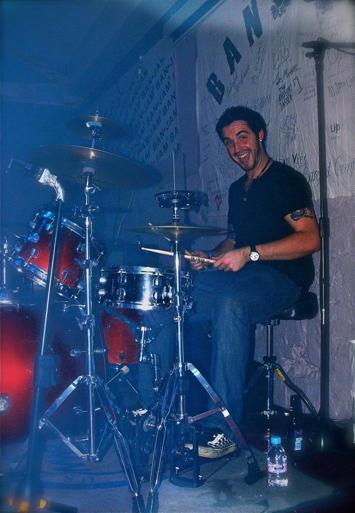 Dan Western, drums, The Quotes @ Proud | Dan Western, drums