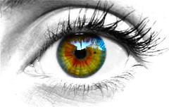 iris, vision care, eyelash, drawing, close-up, eye, organ,