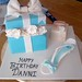 Tiffany Box and Shoe Cake