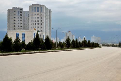 ashgabat turkmenistan street tm