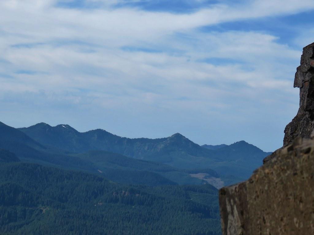 North Peak, Echo Mountain, South Peak, Cone Peak, and Iron Mountain
