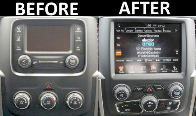 Diy  2013  Ra3  Ra4 8 4 U0026quot  Radio Conversion Upgrade