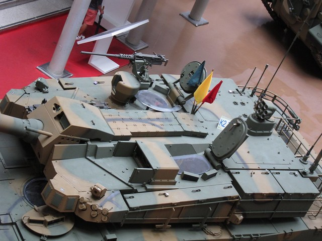 Turret of K2 Main Battle Tank