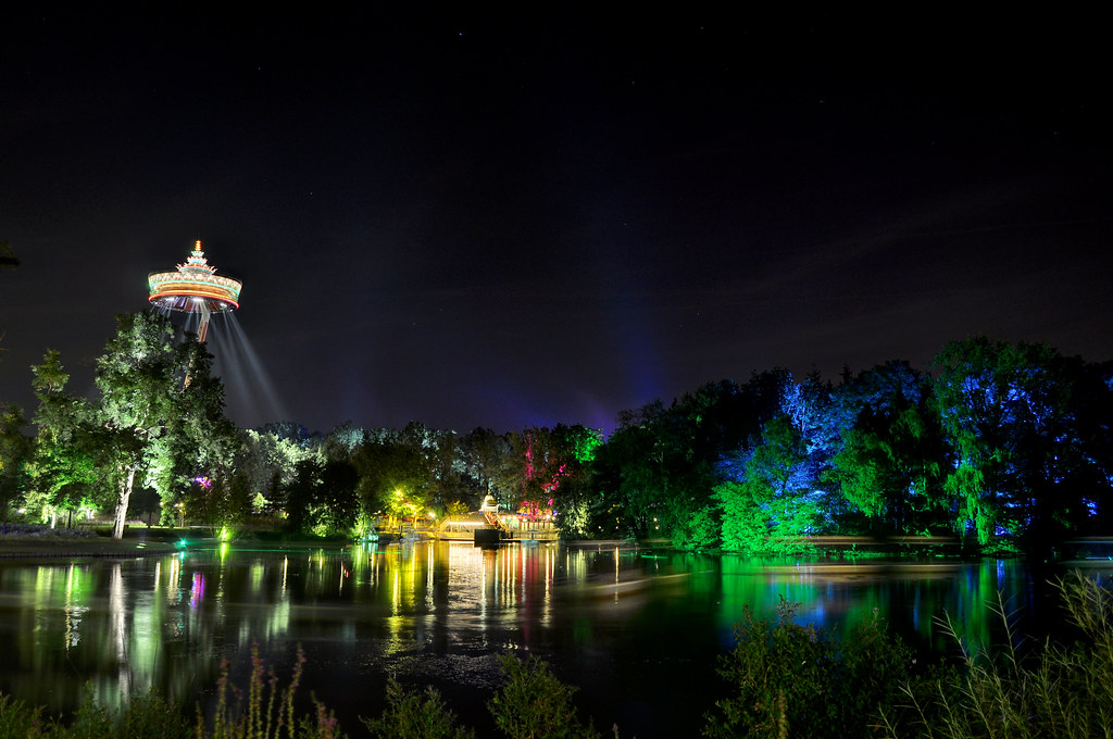 The big pond, Efteling, Netherlands
